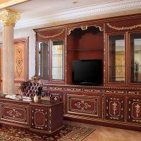 Makam odası ofis mobilyaları el işçiliği marküteri