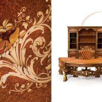 Ofis masası makam odası desenleri marküteri